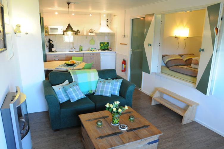 Het groene appartement